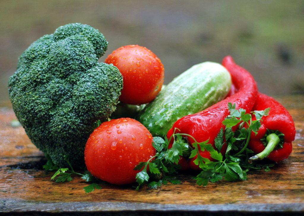 ăn rau củ quả