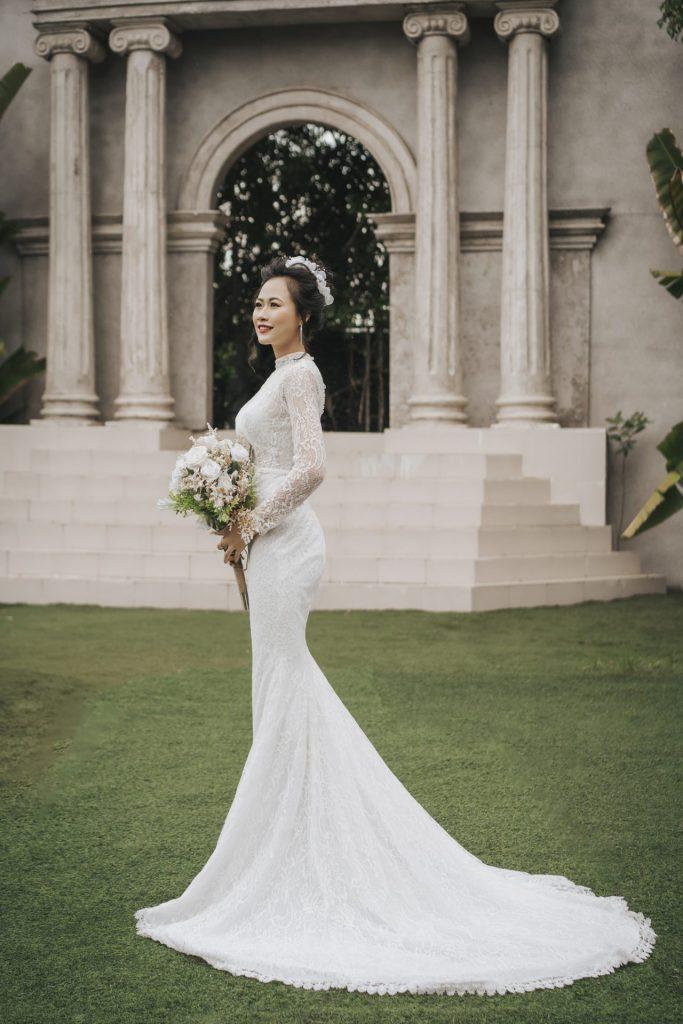 ảnh cưới cô dâu
