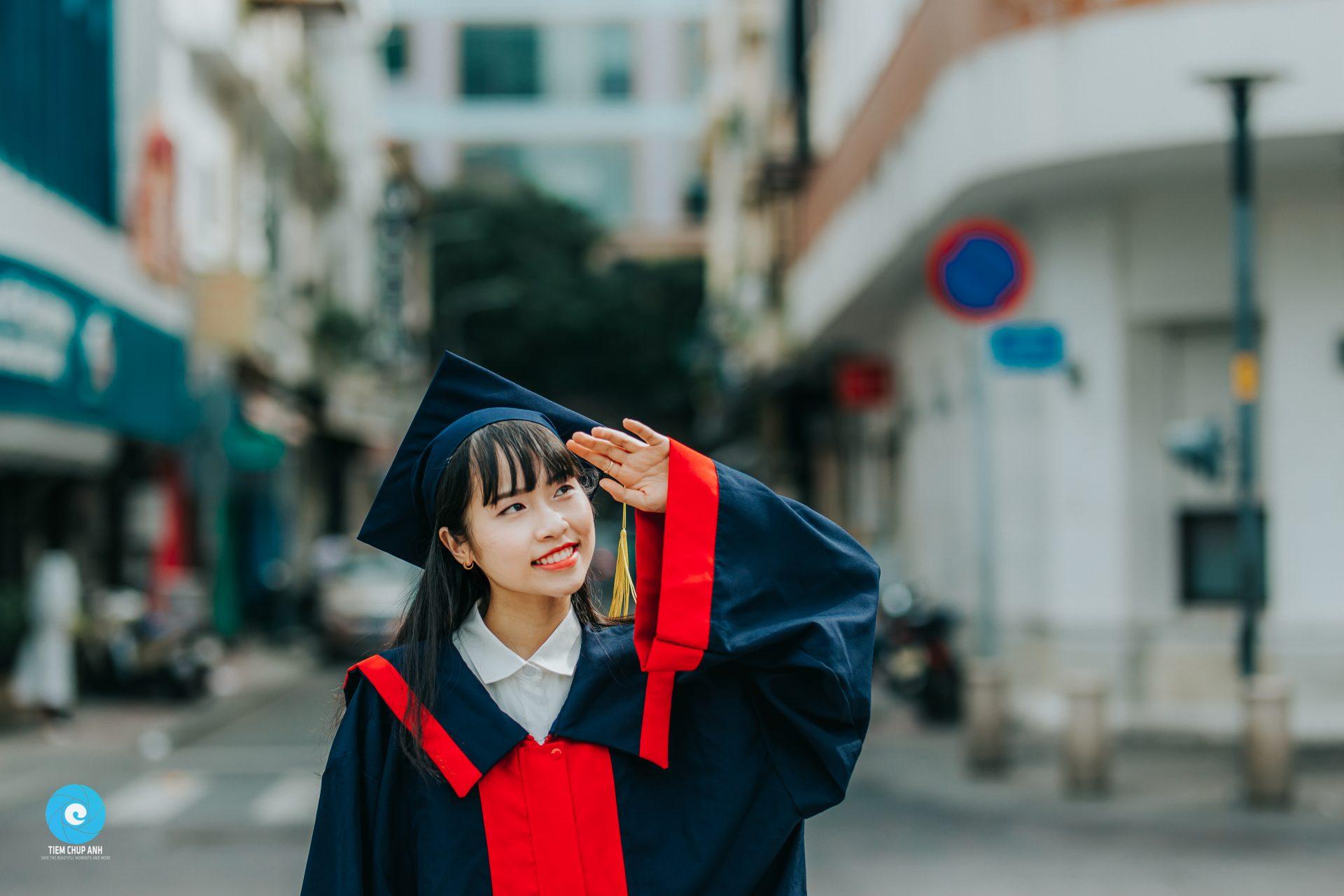 chụp ảnh lễ tốt nghiệp mẫu giáo