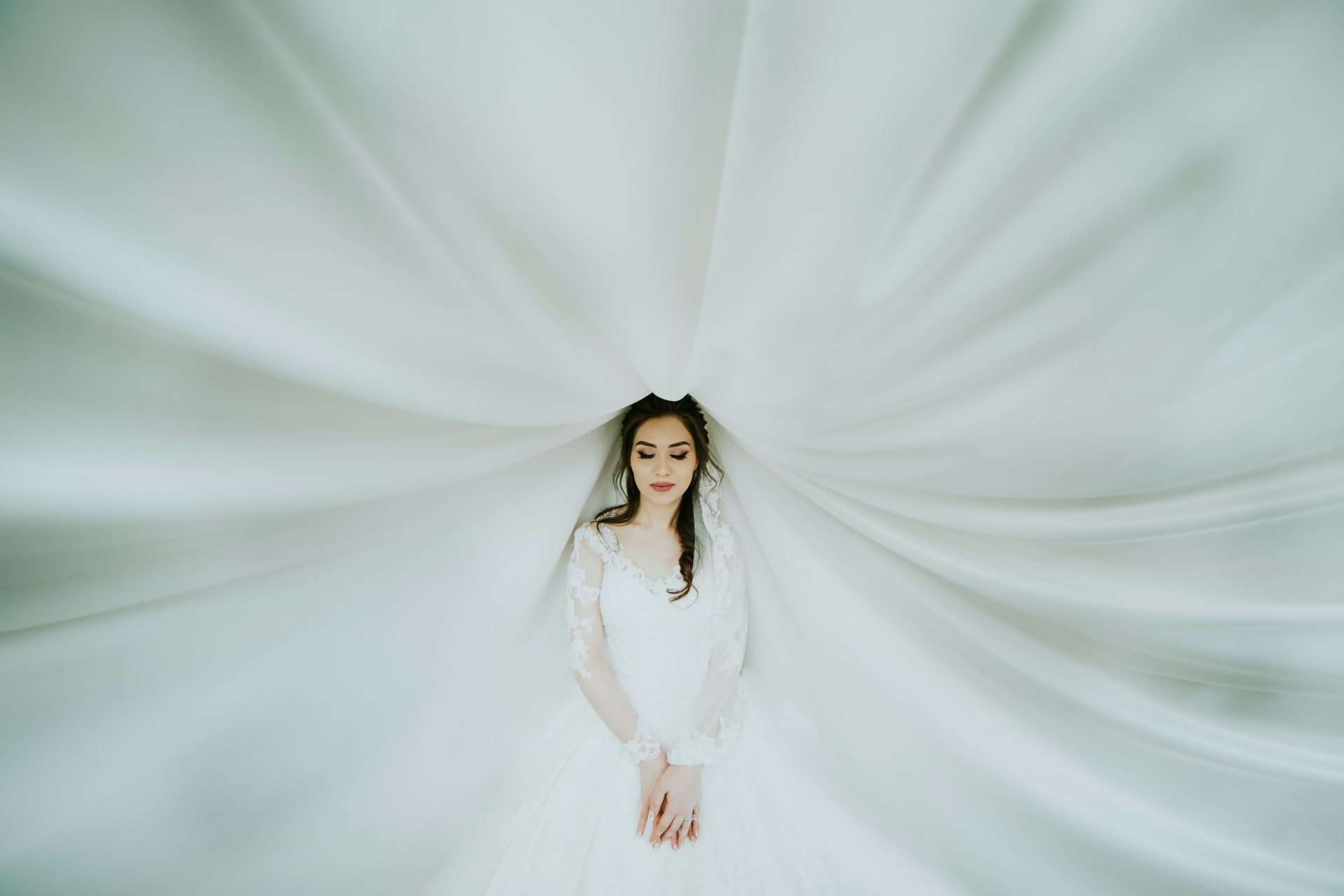 chụp ảnh cô dâu đơn thân