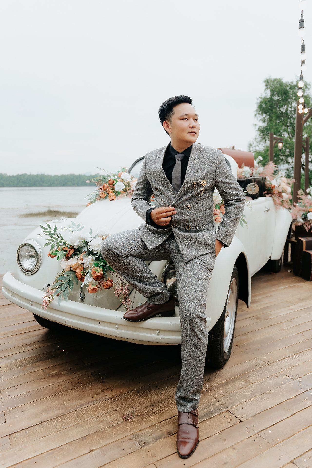 chụp ảnh cưới phim trường