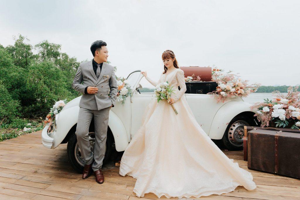 chụp hình cưới studio