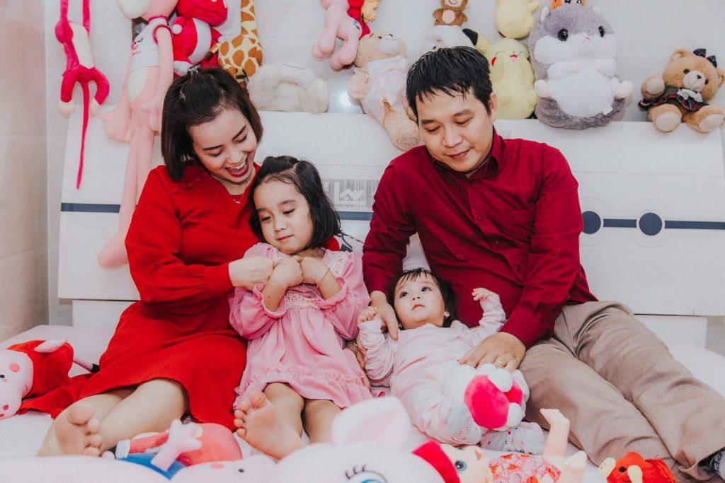 Cách chụp ảnh gia đình đẹp