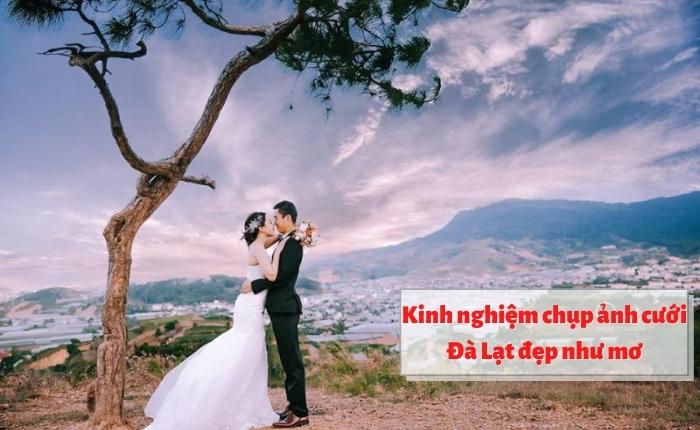 Kinh nghiệm chụp ảnh cưới Đà Lạt đẹp như mơ
