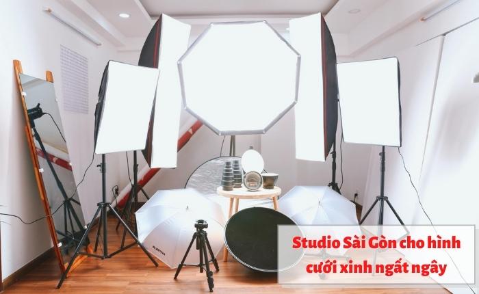 Studio Sài Gòn cho hình cưới xinh ngất ngây