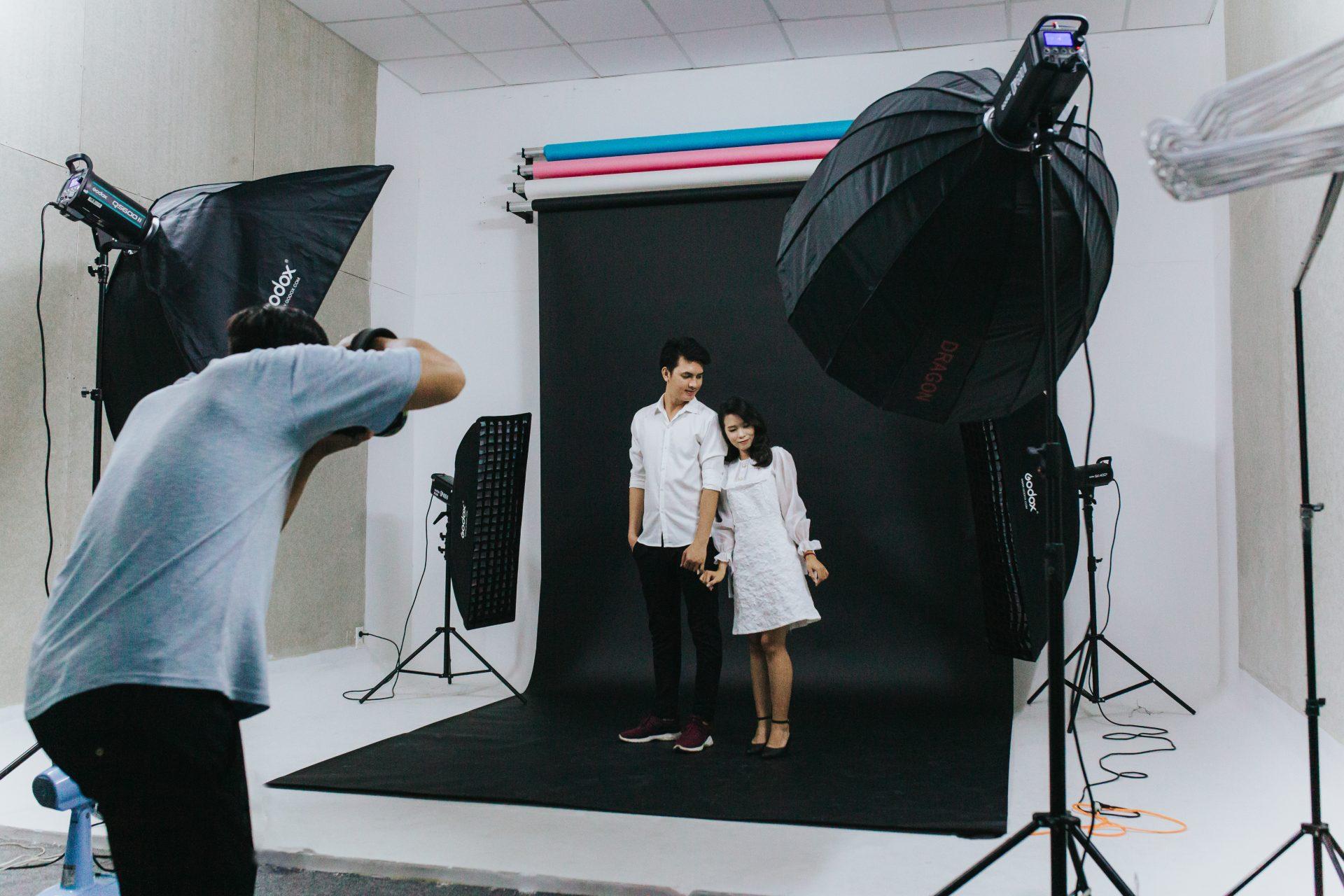 Chụp ảnh cưới Studio ở TP.HCM