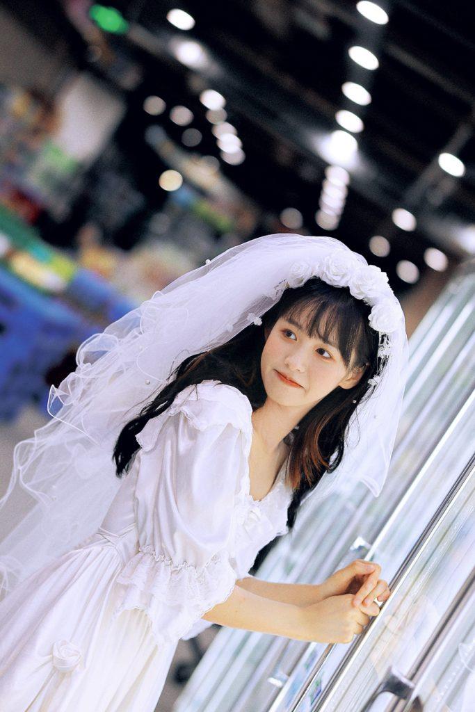 chụp hình cô dâu đơn thân đẹp